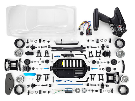 rc car assembly kit Banco de Imagens