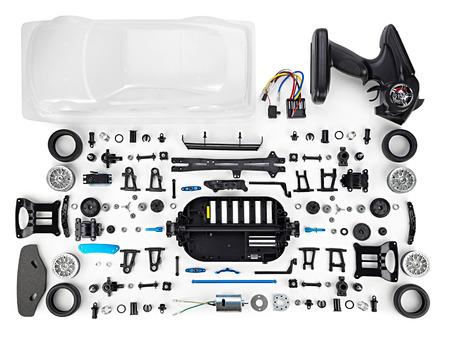 rc: rc car assembly kit Stock Photo