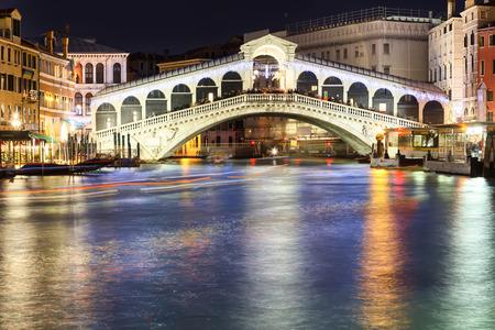 rialto: famous rialto bridge in venice