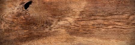 Alte breite panorama braun retro eiche holz textur hintergrund muster