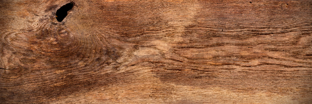 old wide panorama brown retro oak wood texture background pattern Stock Photo - 78765691