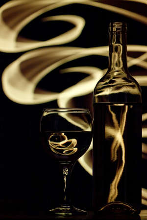 Wine, background abstraction
