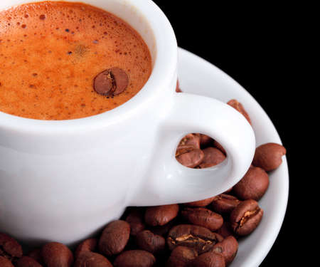 Perfect Coffee  Stock Photo
