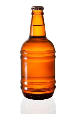 Beer bottle isolated on white background  Stock Photo - 10307310