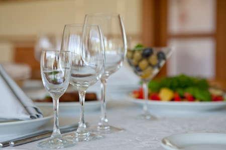 restaurant set  photo