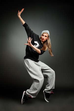 roughneck: stylish hip hop girl