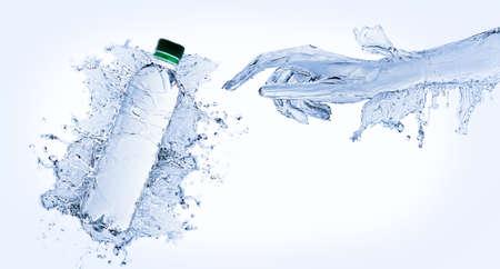 Water hand Stock Photo