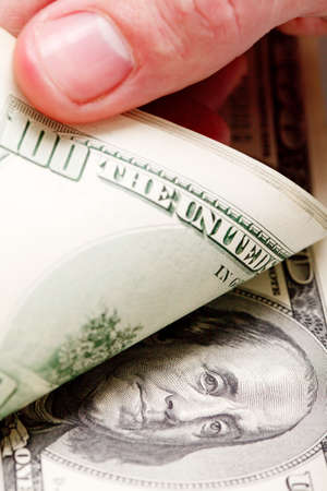 Close-up of a  100 banknotes Stock Photo - 17623975