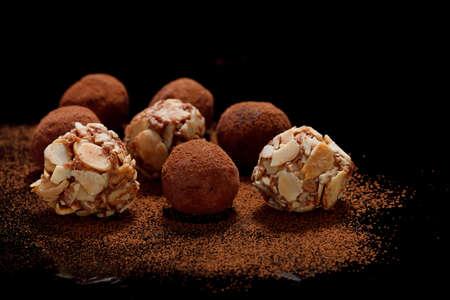 Chocolate Truffles Stock Photo - 19971963