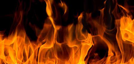 Blaze Feuer Flamme Textur Hintergrund Standard-Bild - 47623277