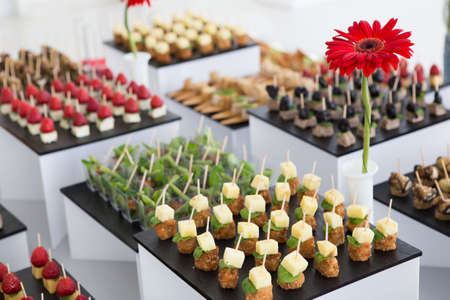 appetizers: catering food