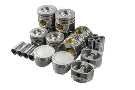 connecting rod: automotive piston