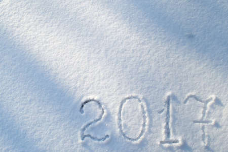 2017 on the snow for the new year