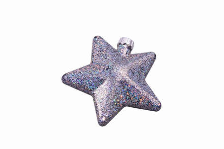 Christmas star isolated over a white background   photo