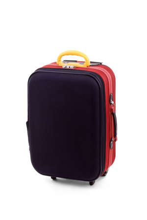 Suitcase isolated on a white background.  Stock Photo - 8592109