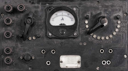 Switch buttons on grunge background Stock Photo - 10501817