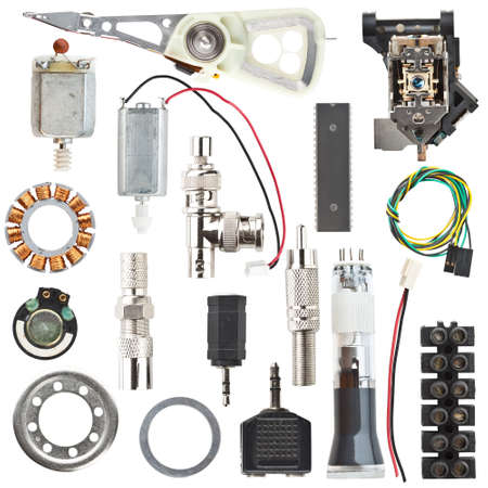 computer parts: Electronic components