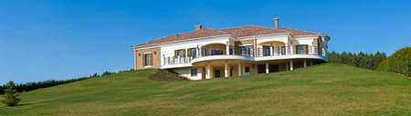 Beautiful luxury mediteranean home  photo