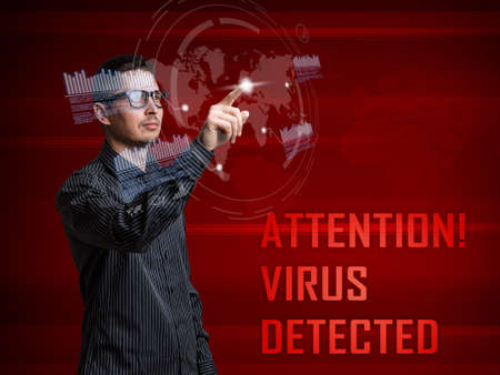 criminality: Cyber attack detected on digital interface