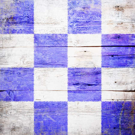 November, international maritime signal flag painted on grungy wood plank background  photo