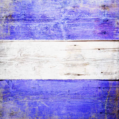 Juliet, international maritime signal flag painted on grungy wood plank background  Stock Photo - 18117599