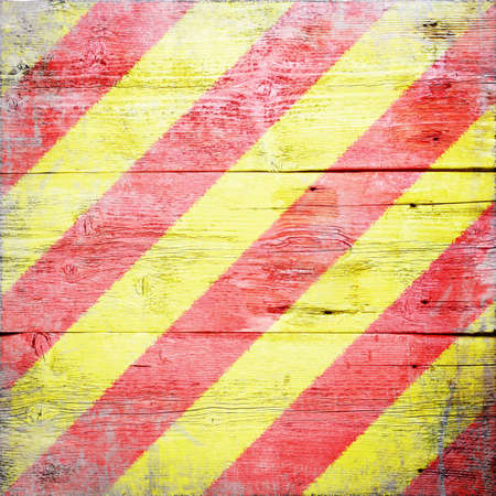 Yankee, international maritime signal flag painted on grungy wood plank background Stock Photo - 18147890