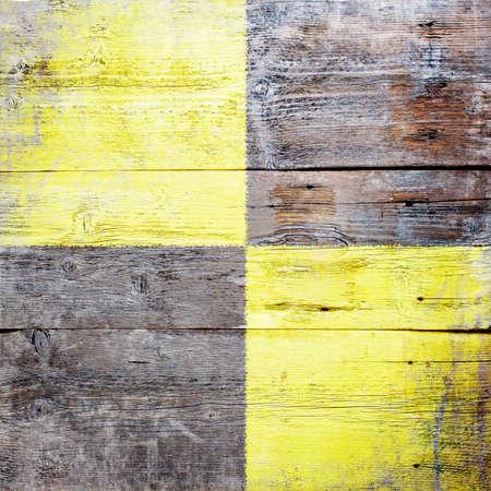 Lima, international maritime signal flag painted on grungy wood plank background  Stock Photo - 18147889