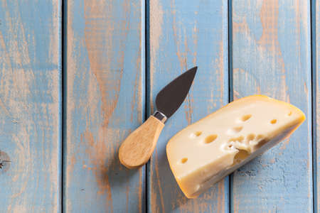 cheese knife: Cheese with cheese knife