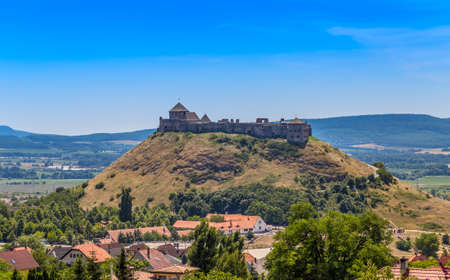 castle: The famous Castle Sumeg in Hungary, Europe.
