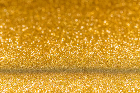 gold background: Golden glitter christmas abstract background