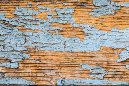decrepit: Decrepit blue old wood background