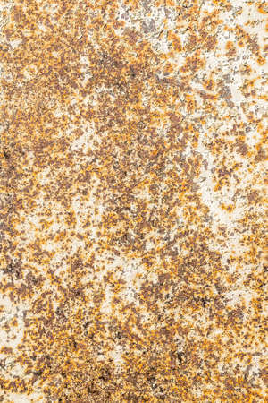 pitted: Old metal iron rust background and texture