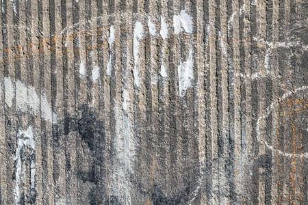 mucky: Grungy wall.