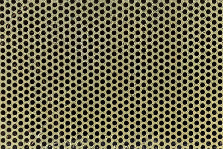 perforated: Background of metal with perforated holes