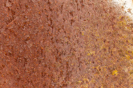 oxidate: Rusted sheet of metal background or texture Stock Photo