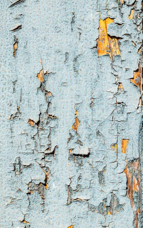 painted wood: Surface of painted shabby wood for background Stock Photo