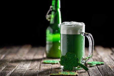 Background for St. Patricks Day celebration