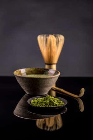maccha: Organic green matcha tea powder