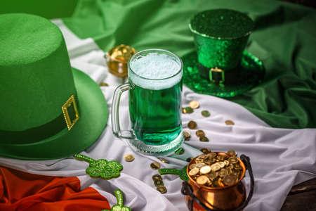 St. Patricks day holiday celebration, lucky concept