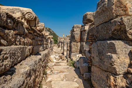 The ruins of Ephesus are a favourite international and local tourist attraction