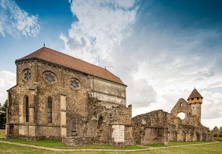 Mystic heritage of the Cistercian monks in Carta, Sibiu, Romania Фото со стока