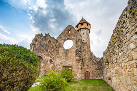Ruins of Cistercian Monastery in Carta, Romania, Europe Stockfoto - 133090750