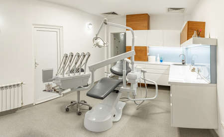 Equipment and instruments for dentistry Stock Photo
