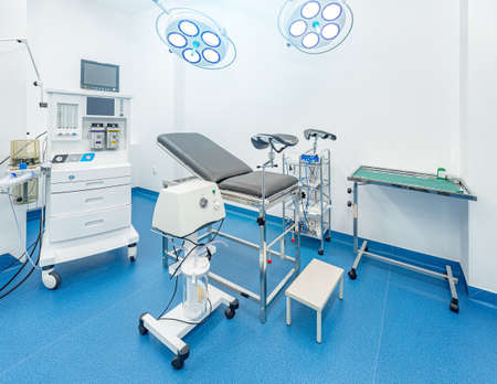 Gynecological room with chair