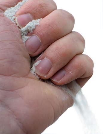 Passing sand
