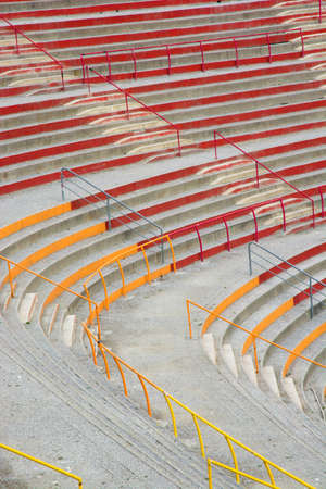 Empty rows in a stadion