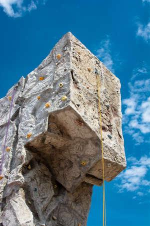 climbing  wall: Artificial Outdoor Climbing Wall