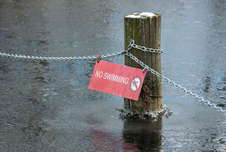 no swimming: No Swimming In Winter