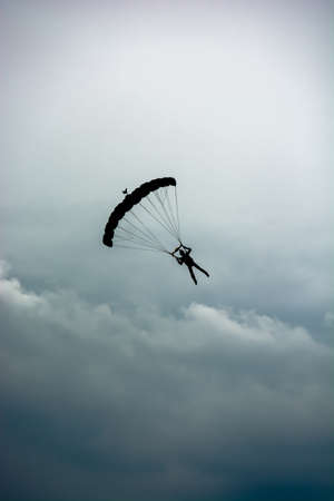 Parachute in the Clouds