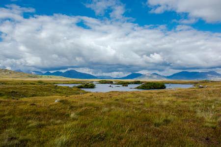 connemara: Lake in Connemara in Ireland Stock Photo